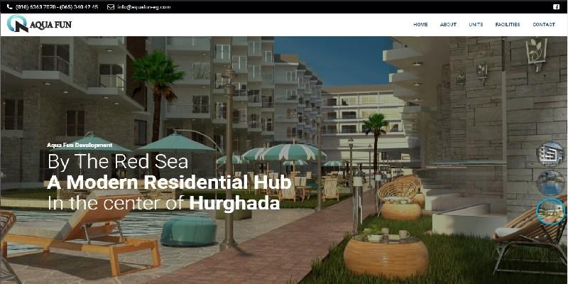 Aqua Fun Website