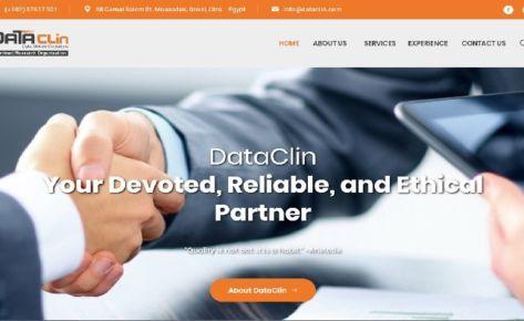 DataClin Website