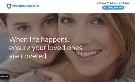 Premium Quotes Website